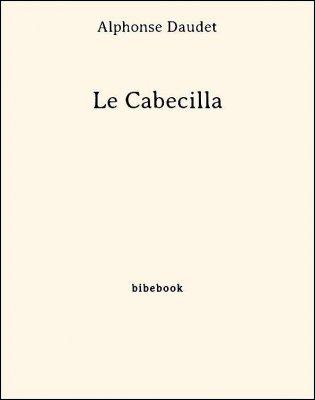 Le Cabecilla - Daudet, Alphonse - Bibebook cover