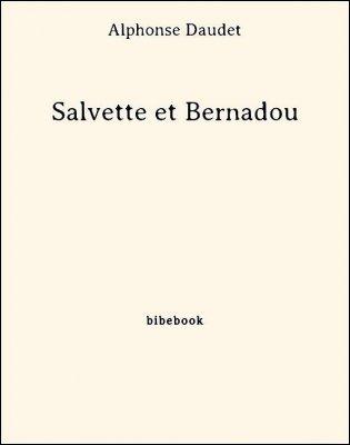 Salvette et Bernadou - Daudet, Alphonse - Bibebook cover