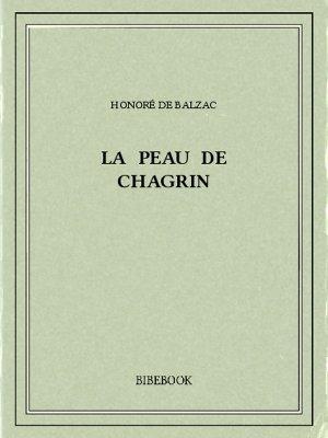 La peau de chagrin - Balzac, Honoré de - Bibebook cover