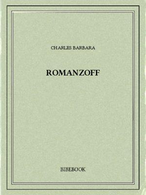 Romanzoff - Barbara, Charles - Bibebook cover