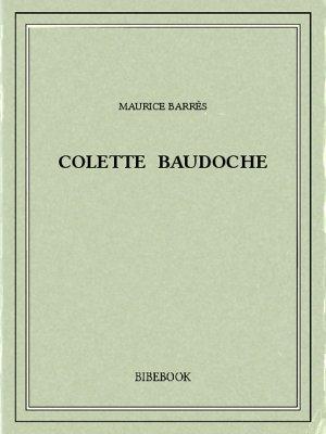 Colette Baudoche - Barrès, Maurice - Bibebook cover