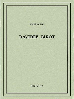 Davidée Birot - Bazin, René - Bibebook cover