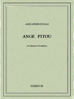 Ange Pitou - Dumas, Alexandre - Bibebook cover