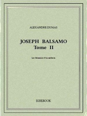 Joseph Balsamo II - Dumas, Alexandre - Bibebook cover