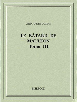 Le bâtard de Mauléon III - Dumas, Alexandre - Bibebook cover