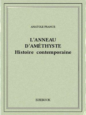 L'anneau d'améthyste - France, Anatole - Bibebook cover