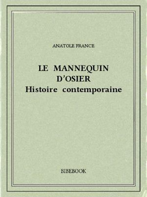 Le mannequin d'osier - France, Anatole - Bibebook cover