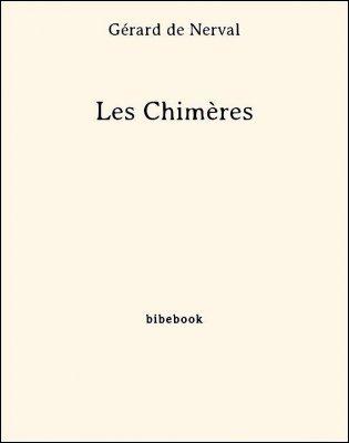 Les Chimères - Nerval, Gérard de - Bibebook cover