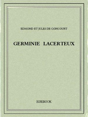 Germinie Lacerteux - Goncourt, Edmond et Jules de - Bibebook cover