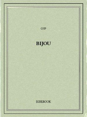 Bijou - Gyp - Bibebook cover
