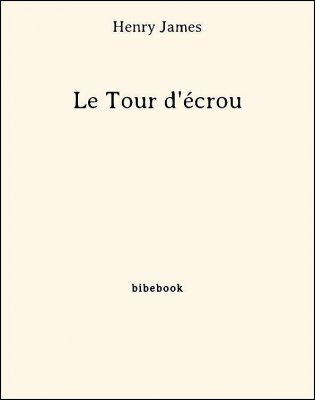 Le Tour d'écrou - James, Henry - Bibebook cover