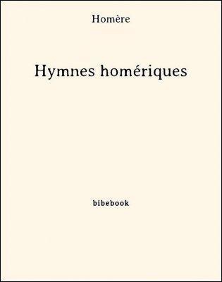 Hymnes homériques - Homère - Bibebook cover