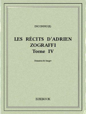 Les récits d'Adrien Zograffi IV - Istrati, Panaït - Bibebook cover
