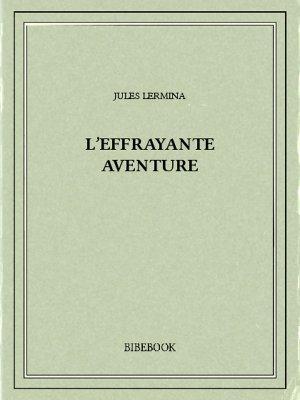 L'effrayante aventure - Lermina, Jules - Bibebook cover