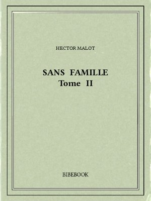 Sans famille II - Malot, Hector - Bibebook cover