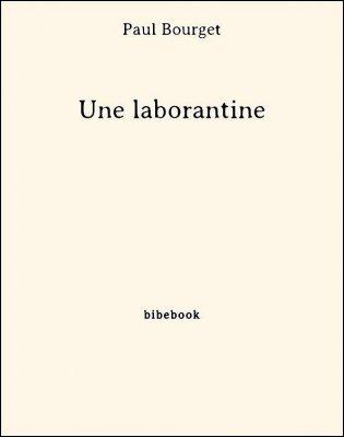 Une laborantine - Bourget, Paul - Bibebook cover