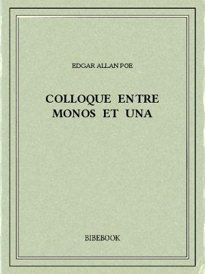 Colloque entre Monos et Una - Poe, Edgar Allan - Bibebook cover