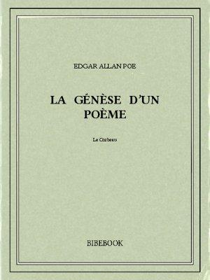 La génèse d'un poème - Poe, Edgar Allan - Bibebook cover