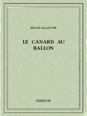 Le Canard au ballon - Poe, Edgar Allan - Bibebook cover