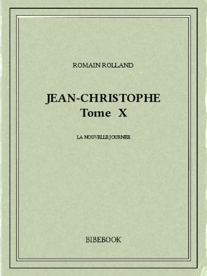 Jean-Christophe X - Rolland, Romain - Bibebook cover