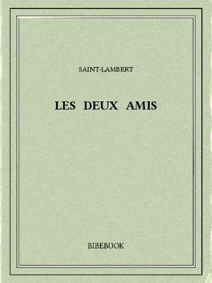 Les deux amis - Saint-Lambert - Bibebook cover