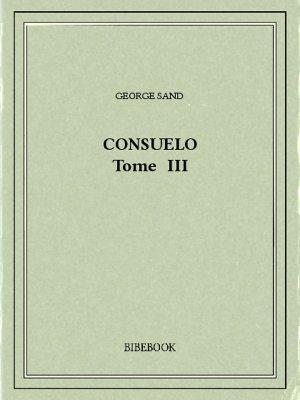 Consuelo III - Sand, George - Bibebook cover