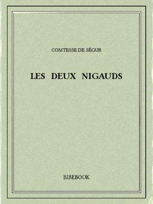 Les deux nigauds - Ségur, Comtesse de - Bibebook cover