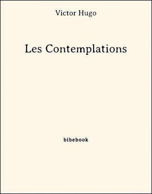 Les Contemplations - Hugo, Victor - Bibebook cover