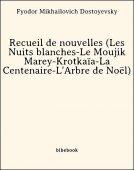 Recueil de nouvelles (Les Nuits blanches-Le Moujik Marey-Krotkaïa-La Centenaire-L'Arbre de Noël) - Dostoyevsky, Fyodor Mikhailovich - Bibebook cover