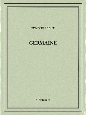 Germaine - About, Edmond - Bibebook cover