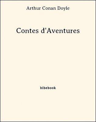 Contes d'Aventures - Doyle, Arthur Conan - Bibebook cover