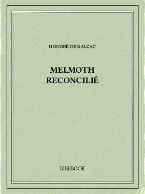 Melmoth reconcilié - Balzac, Honoré de - Bibebook cover