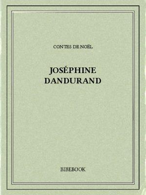 Contes de Noël - Dandurand, Joséphine - Bibebook cover