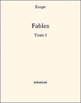Fables - Tome I - Ésope - Bibebook cover