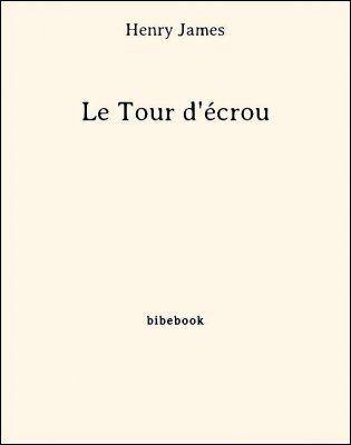 Le Tour d'écrou - James, Henry - Bibebook cover