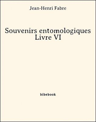 Souvenirs entomologiques - Livre VI - Fabre, Jean-Henri - Bibebook cover