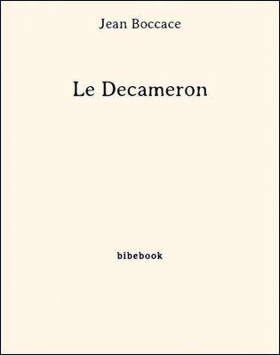 Le Decameron - Boccace, Jean - Bibebook cover