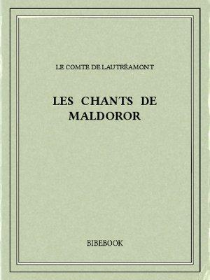 Les chants de Maldoror - Lautréamont - Bibebook cover