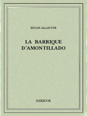La barrique d'amontillado - Poe, Edgar Allan - Bibebook cover