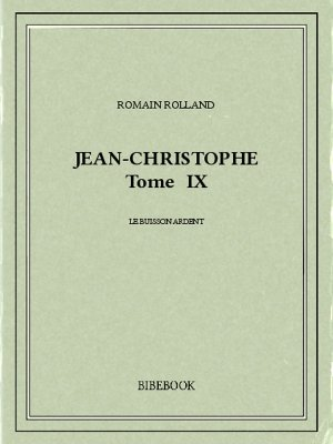 Jean-Christophe IX - Rolland, Romain - Bibebook cover