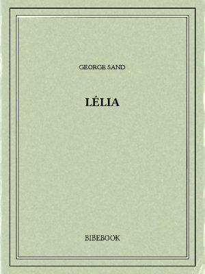 Lélia - Sand, George - Bibebook cover