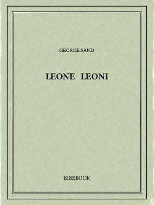 Leone Leoni - Sand, George - Bibebook cover