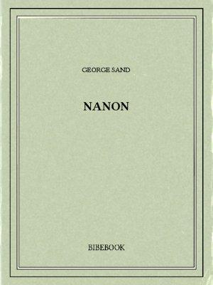 Nanon - Sand, George - Bibebook cover