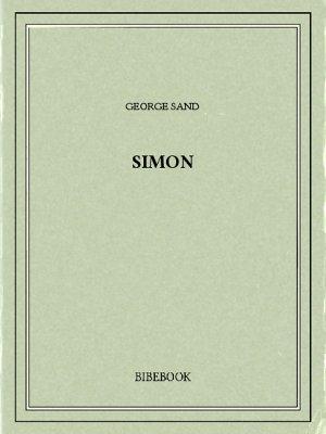 Simon - Sand, George - Bibebook cover