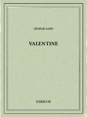 Valentine - Sand, George - Bibebook cover