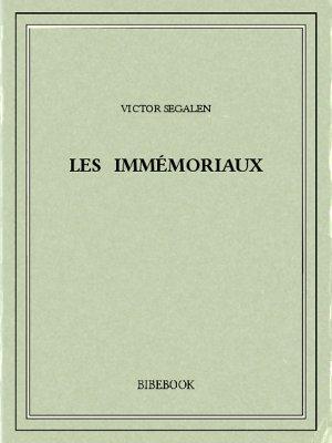 Les Immémoriaux - Segalen, Victor - Bibebook cover